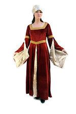 robe costume Moyen-âge NOBLE Germanique Gothique 38 S