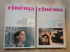 2 Revues Magazines CINEMA 80 QUATRE-VINGTS (Nr 253 254) ANNEE 1980