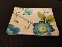 Handmade Women's/Girls Purse - Make Up Bag W/Inside Pocket Floral