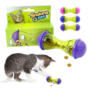 Cat Puzzle Toy IQ Treat Ball Pet Fun Food Dispenser Interactive Play for Dog Cat