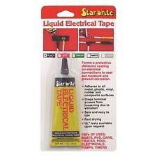 Star Brite Waterproof Liquid Electrical Tape BLACK 1 Oz. UL tested. MD