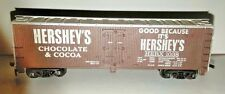 RARE VINTAGE TYCO HO HERSHEY'S HERX 1038 REFRIGERATED REEFER BOX CAR