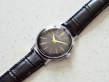 Luch 23 Jewels USSR Vintage Watch (Black Dial)