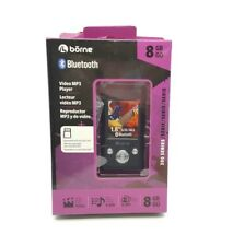 Borne 8GB MP3 Player 1.8 LCD Bluetooth Expandable with MicroSD (MP390B-8BK)™