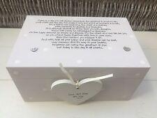 Shabby Personalised Chic Wedding Present Bride Groom EXTRA LARGE Gift Memory Box
