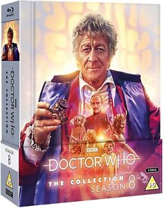 Doctor Who The Collection Season 8 Blu-Ray Limited Edition Brand New and Sealed