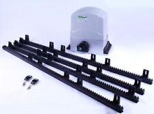 Toröffner Torantrieb Schiebetorantrieb Set  mit bis 1000 kg Torgewicht 4 Stangen