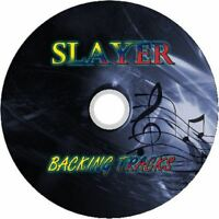 SLAYER GUITAR BACKING TRACKS CD BEST GREATEST HITS MUSIC PLAY ALONG METAL MP3