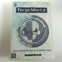 Forgeworld - Death Korps of Krieg - AUTOCANNON TEAM 1