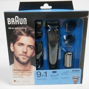 Braun 9-in-1 All-in-One Trimmer MGK5080 Body Groomer Set *USED EXCELLENT*