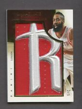 2013-14 Immaculate Collection James Harden Rockets Logo Patch 2/5