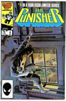 PUNISHER #4, VF, Mike Zeck, Mini Series, 1986, Marvel, more in store