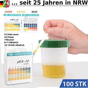 Urin PH Test Speichel Teststreifen Urinteststreifen Urintest Streifen Strips