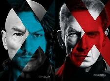 "X-MEN DAYS OF FUTURE PAST 2014 Advance DS 2 Sided 27x40"" Movie Posters Set Of 2"