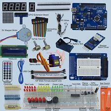 Elementary UNO R3 Starter Kit for Arduino 1602 LCD Servo Motor LED Infrared