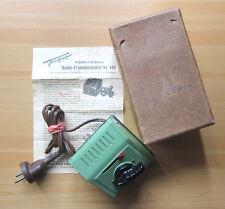 Vintage FLEISCHMANN Tr 52 Trafo (503) Made in US Zone Germany mit Anleitung+OVP