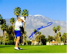 Kristy McPherson signed LPGA 8x10  photo