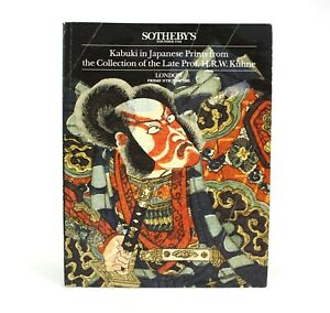 Sotheby's Kabuki in Japanese Prints, Kuhne Collection, London, 11 June 1993
