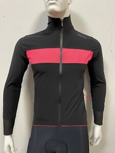 Guard Men's Mercurio Thermowelded Jacket  Black Made in Italy by Santini Size M