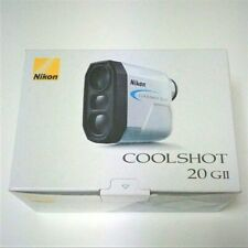 NIKON Coolshot 20 GII G20 Golf Laser Rangefinder Waterproof max. 800 yd - White