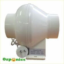 "Plastic Hydroponic Environmental Controls 4"" Fan"