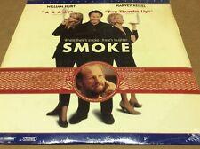 Smoke Letterbox Laserdisc LD William Hurt Harvey Keitel BRAND NEW