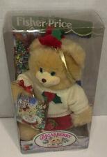 Fisher Price Christmas Rare Briarberry Bear Berrynicole Ice Skater Bear