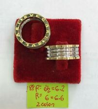 GoldNMore: 18K Gold Ring S 6 6.5 1pc (White/Yellow Gold)