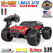 1:14 RC Monster Truck 2.4Ghz 4WD High Speed Racing Off-road RTR RC Car Vehicle