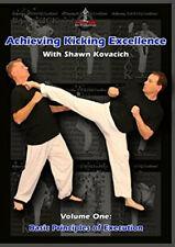 Achieving Kicking Excellence Basic Vol.1 Shawn Kovacich Kickboxing 2 Dvd B572