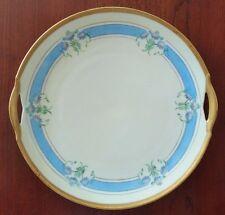 "Antique KPM Pierced Handle Cake Plate 9.75"" Marked c1923"