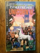 Unicorn U by Esther M. Friesner (1992, Paperback)