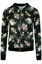 Unbranded Bomber Floral Coats & Jackets for Women