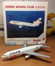 Herpa Wings 1:500 500142 MD DC-10 Scanair Club model