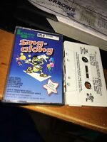 KARAOKE AUSTRALIA SING ALONG HITS OF MADONNA Cassette Tape