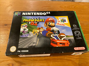 Nintendo 64 Mariokart 64 BOX ONLY