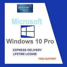 SCRAP PC with GENUINE WINDOWS 10 PRO32/64-BIT OEM ORIGINAL LICENSE KEY