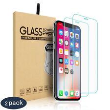 2x Schutzglas Für iPhone 6 7 8 Plus X XS XR XS MAX 11 Panzer Displayschutzfolie