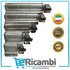 Ventilatore Tangenziale Motore Stufa Pellet Camino 230V | Diam. Ventola 60mm