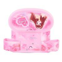 Girl Music Box Children Musical Case Jewellery Rectangle Box with Pink Ballerina
