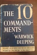The 10 Commandments by Warwick Deeping, hardcover 1940 vintage