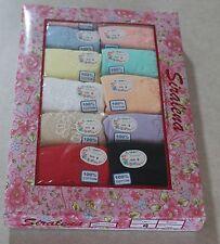 NWT Plus Women's Briefs 12 Pairs Lot Size 9 Cotton Pretty Colors 2 X Underwear