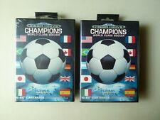 LOT 2 X CHAMPIONS WORLD CLASS SOCCER SEGA MEGADRIVE GENESIS PAL SEALED / NUEVO