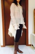 Spettacolare Camicia Seta Bianco/avorio White Silk Shirt GIANFRANCO FERRE tg. 44