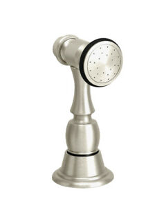 Waterstone 4025-AP Antique Pewter Traditional Sink Side Spray NEW Sprayer Faucet