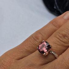 Echte Edelstein-Ringe aus Rotgold mit Spinell