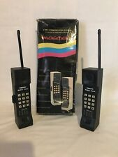 Vintage  Walkie Talkie Headsets Voice Operated Two-way Communication System