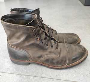 red wing iron ranger 8116 size 11.5D
