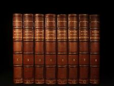 1869 History of Bourbon Restoration French Revolution Napoleon Louis-Phillipe