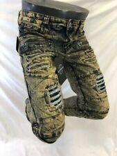 Jeans regulars verts pour homme